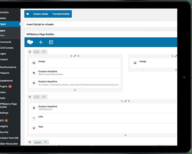 Easy to Update & Manage Website Design