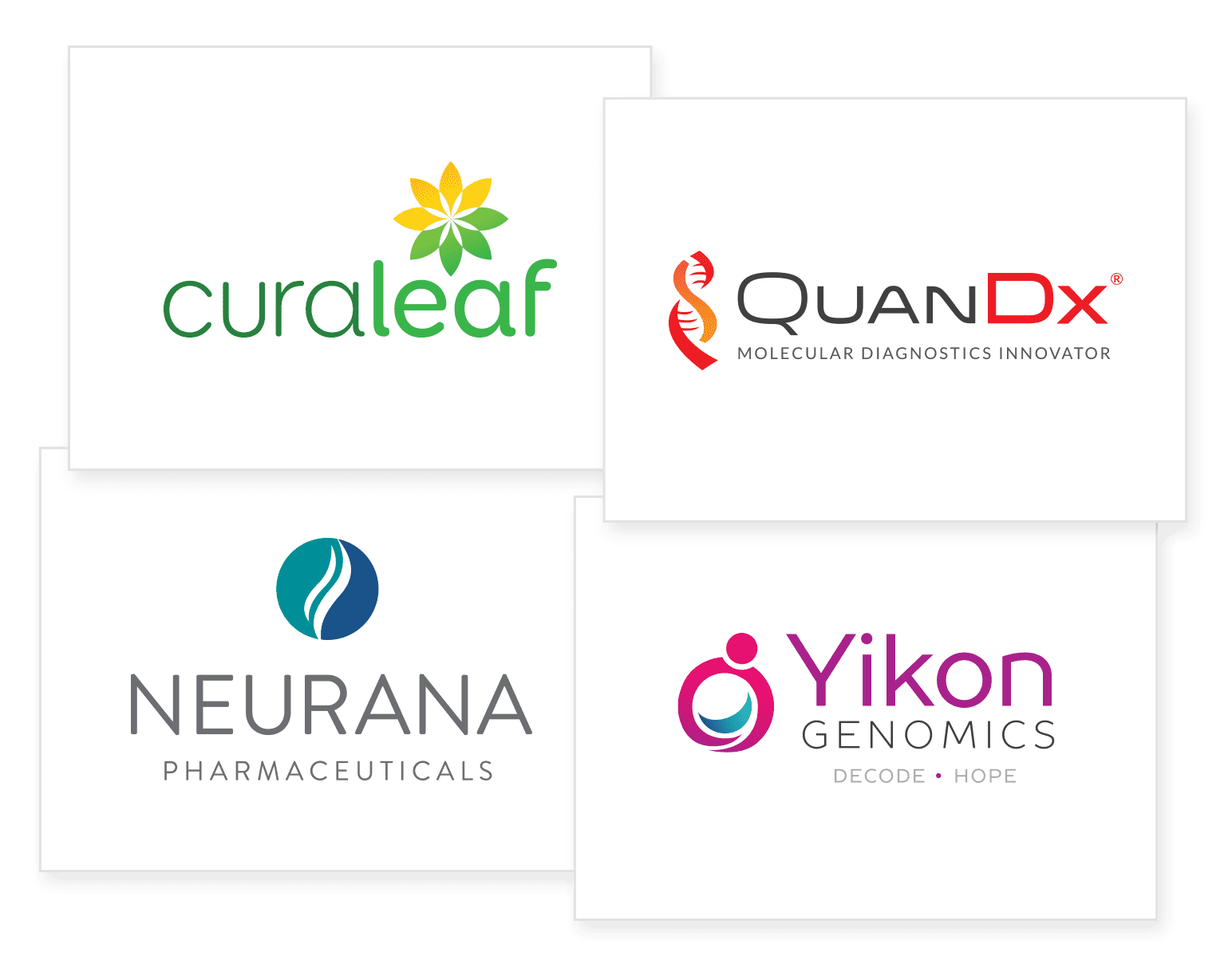 Biotech, Pharma, Life Science Logo Design