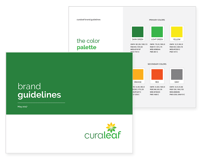 Curaleaf Branding & Logo Design